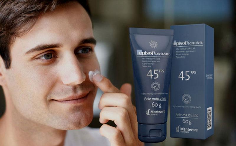 protetor solar masculino
