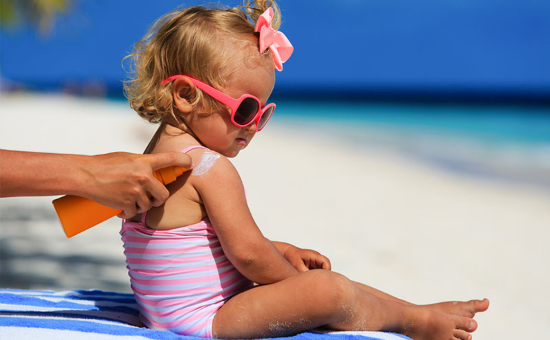 protetor solar para bebes