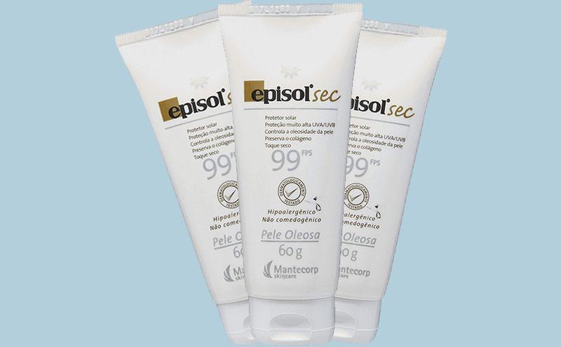 protetor solar facial toque seco