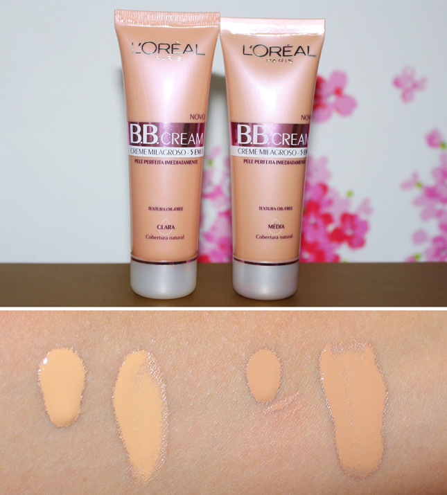 textura do bb cream loreal